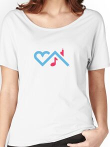 I Love Chicago House Music Women's Relaxed Fit T-Shirt