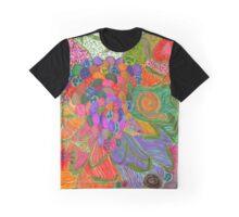 Port Dahlia Grapes Graphic T-Shirt
