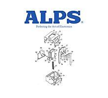 ALPS Key switch Photographic Print