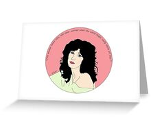 Love Cher Greeting Card