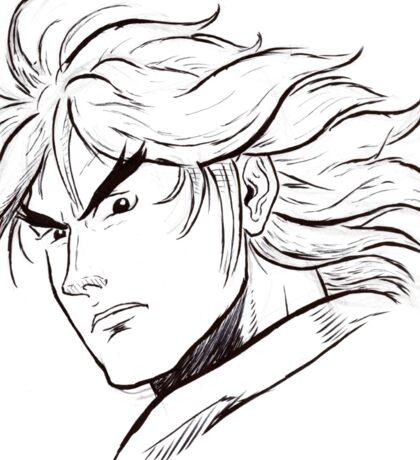 Street Fighter II Portraits - Ken Sticker
