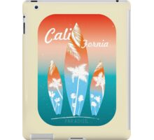 Beach Surfing California retro style iPad Case/Skin
