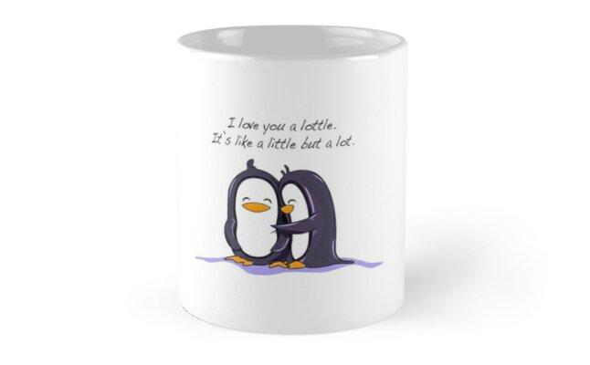 I Like You a Lottle Penguins by latifakadhafi