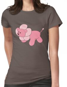 Balloon Animal Lion Womens Fitted T-Shirt