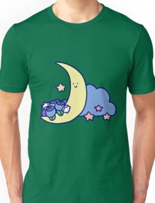 Blueberry Cresecent Moon Unisex T-Shirt