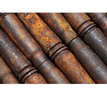 Rusty Shells Photographic Print