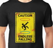 Caution - Portal Unisex T-Shirt