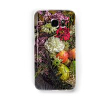 Fruit and Flower Basket for the Fall Samsung Galaxy Case/Skin