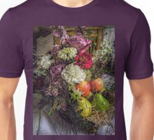 Fruit and Flower Basket for the Fall Unisex T-Shirt