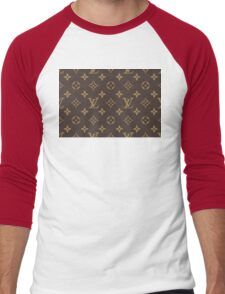 LOUIS VUITTON Men's Baseball ¾ T-Shirt