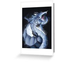 Cyber Dragon  Greeting Card