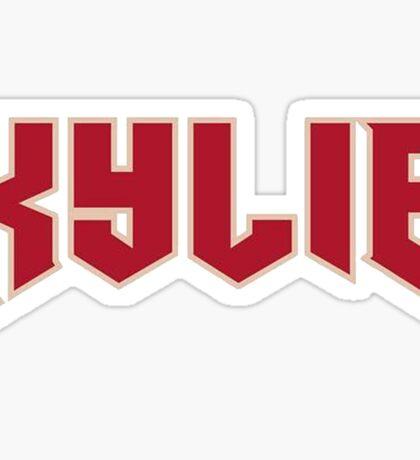 Kylie. Sticker