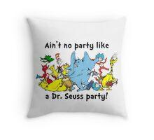 Dr. Seuss Party Throw Pillow