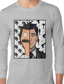 Trading Faces Long Sleeve T-Shirt