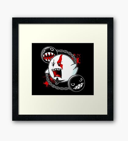 Ghost of Sparta Framed Print