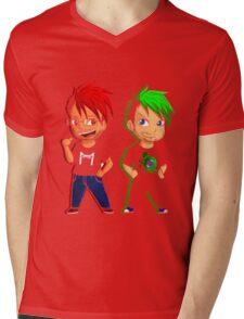 markiplier jacksepticeye Mens V-Neck T-Shirt