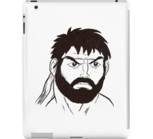 Street Fighter II Portraits - Ryu iPad Case/Skin