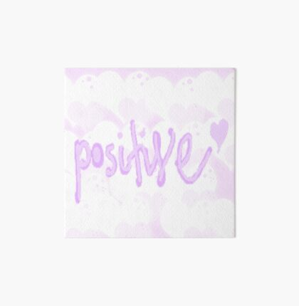 Typograhy Positive Art Board