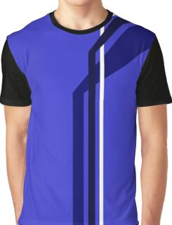 Flying Vanes - Blue Graphic T-Shirt