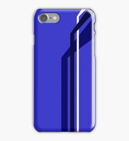 Flying Vanes - Blue iPhone Case/Skin
