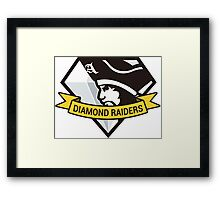 Diamond Raiders Framed Print