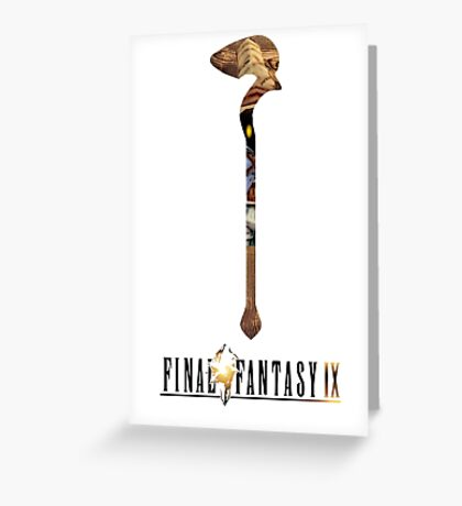 Final Fantasy IX (Vivi) Greeting Card