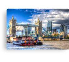 London The City Canvas Print