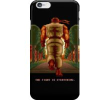 RYU Street Fighter II: The Fight is everything. iPhone Case/Skin