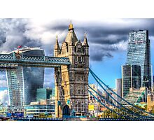 Tower Bridge and the City Photographic Print