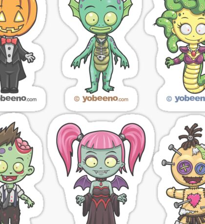 """Little Monster Mini's"" Sticker Sheet 2of2 Sticker"
