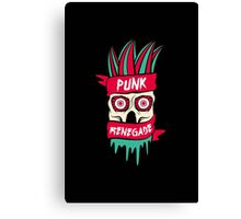 Punk Renegade Canvas Print