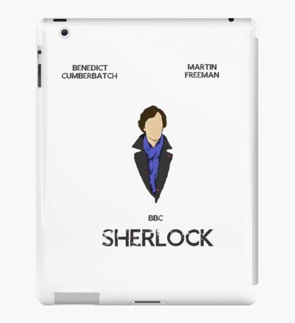 Sherlock Minimalist 1 iPad Case/Skin