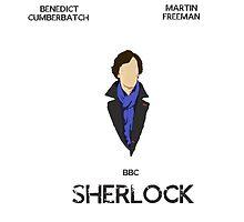 Sherlock Minimalist 1 by mygeekaquarium