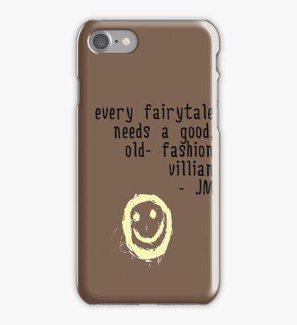 BORED VILLIAN 1 iPhone Case/Skin
