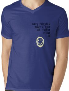 BORED VILLIAN 1 Mens V-Neck T-Shirt