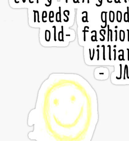 BORED VILLIAN 1 Sticker