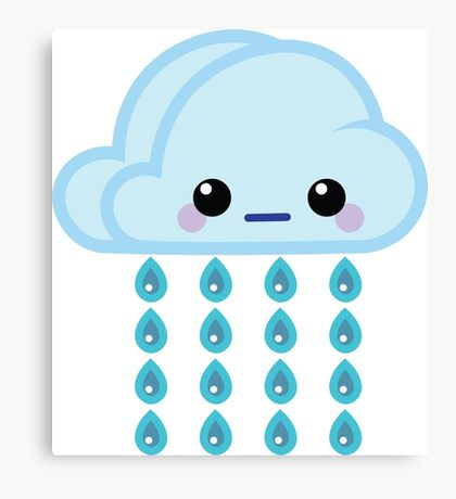 Mood Swing  -  Drizzle Canvas Print