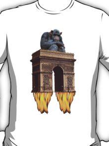 monkey - spaceship T-Shirt