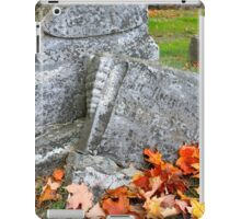 Time Changes All Things iPad Case/Skin