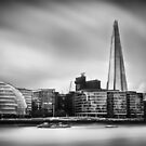 The Shard and City Hall London by Ian Hufton