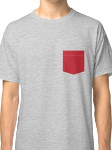 Pocket Tee - Red Classic T-Shirt
