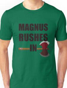 [TAZ] MAGNUS RUSHES IN! Unisex T-Shirt