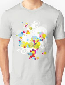 Fireworks; Abstract Digital Vector Art Unisex T-Shirt