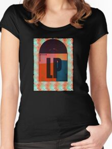 Vinyl Record Love Women's Fitted Scoop T-Shirt