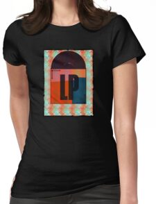 Vinyl Record Love Womens Fitted T-Shirt