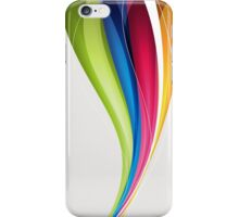 Hurricane; Abstract Digital Vector Art iPhone Case/Skin