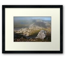 In The Clouds On Errigal Framed Print