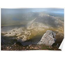 In The Clouds On Errigal Poster