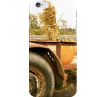 Farmer Loads his Pumpkins iPhone Case/Skin
