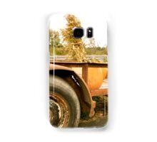 Farmer Loads his Pumpkins Samsung Galaxy Case/Skin